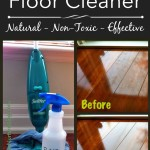 Homemade Natural Floor Cleaner