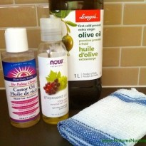 oil cleansing method - natural skin care
