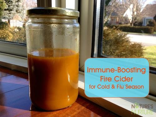 Immune-Boosting Fire Cider