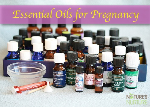 Natural Pregnancy: Essential Oils for Pregnancy