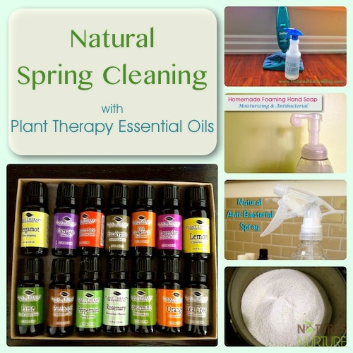 Plant Therapy Essential Oils Reivew - Natural Spring Cleaning