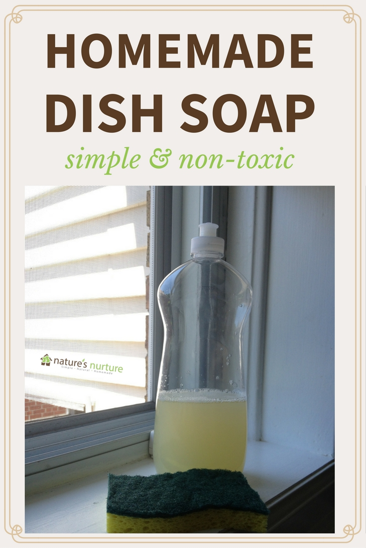 How to Make Homemade Dish Soap With Simple Non-Toxic Ingredients