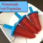 Homemade Fruit Popsicles