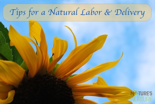 Tips for Natural Labor & Delivery