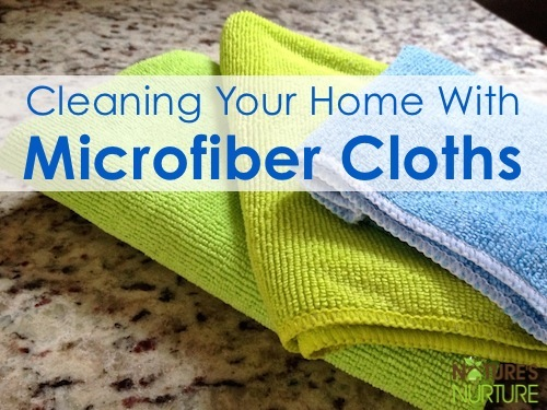 Cleaning With Microfiber Cloths