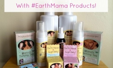Medicine Cabinet Makeover with #EarthMama Products