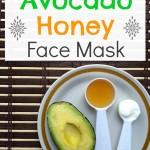 Avocado Honey Face Mask