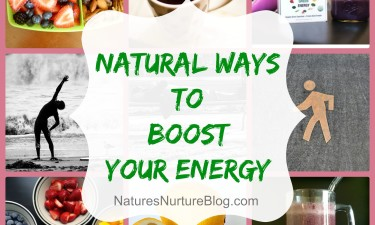Natural Ways to Boost Your Energy