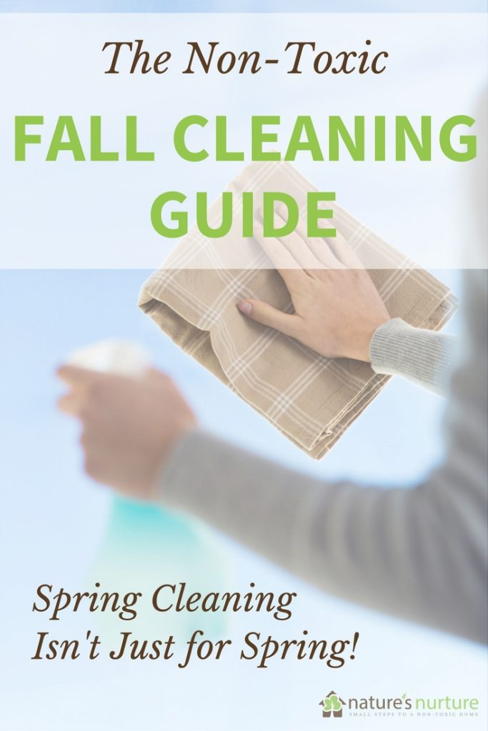 Get your home ready for the winter with this Fall Cleaning Guide for your non-toxic home.