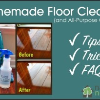 Homemade Floor Cleaner -Tips, Tricks and FAQs