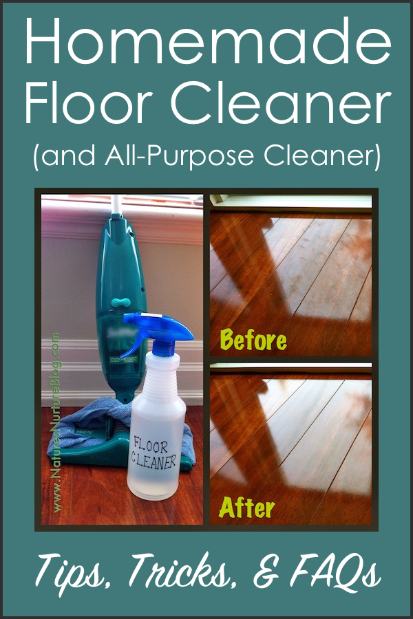 Non-Toxic Homemade Floor Cleaner – Question and Answer