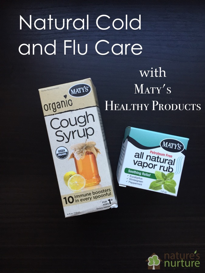 Maty's Healthy Products for Natural Cold and Flu Care