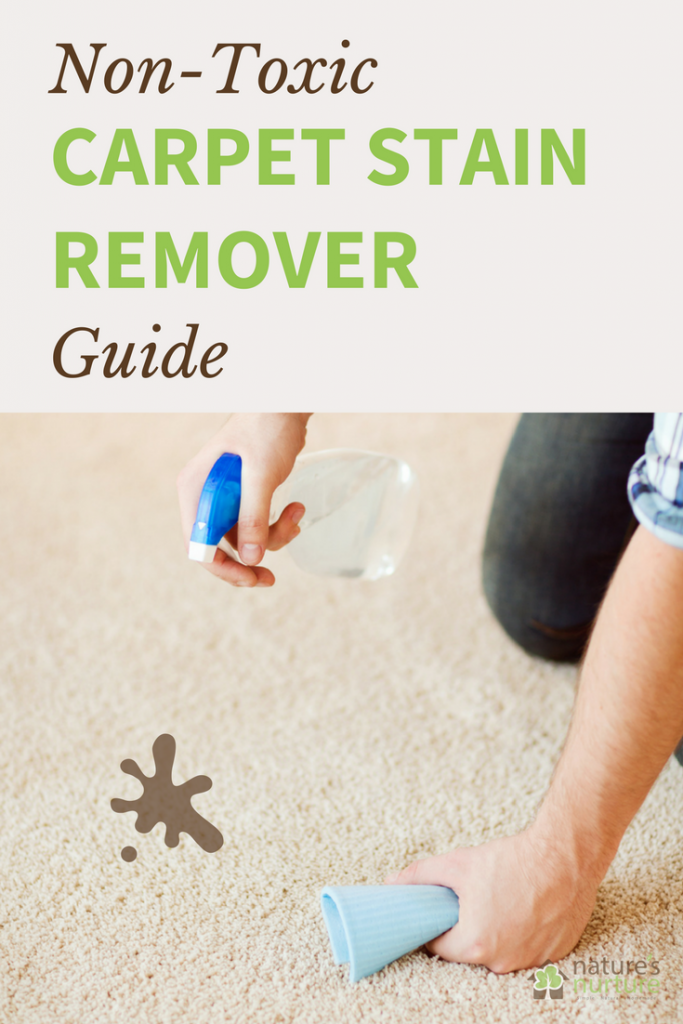 Remove even the toughest carpet stains with a few simple, non-toxic ingredients you probably already have at home.