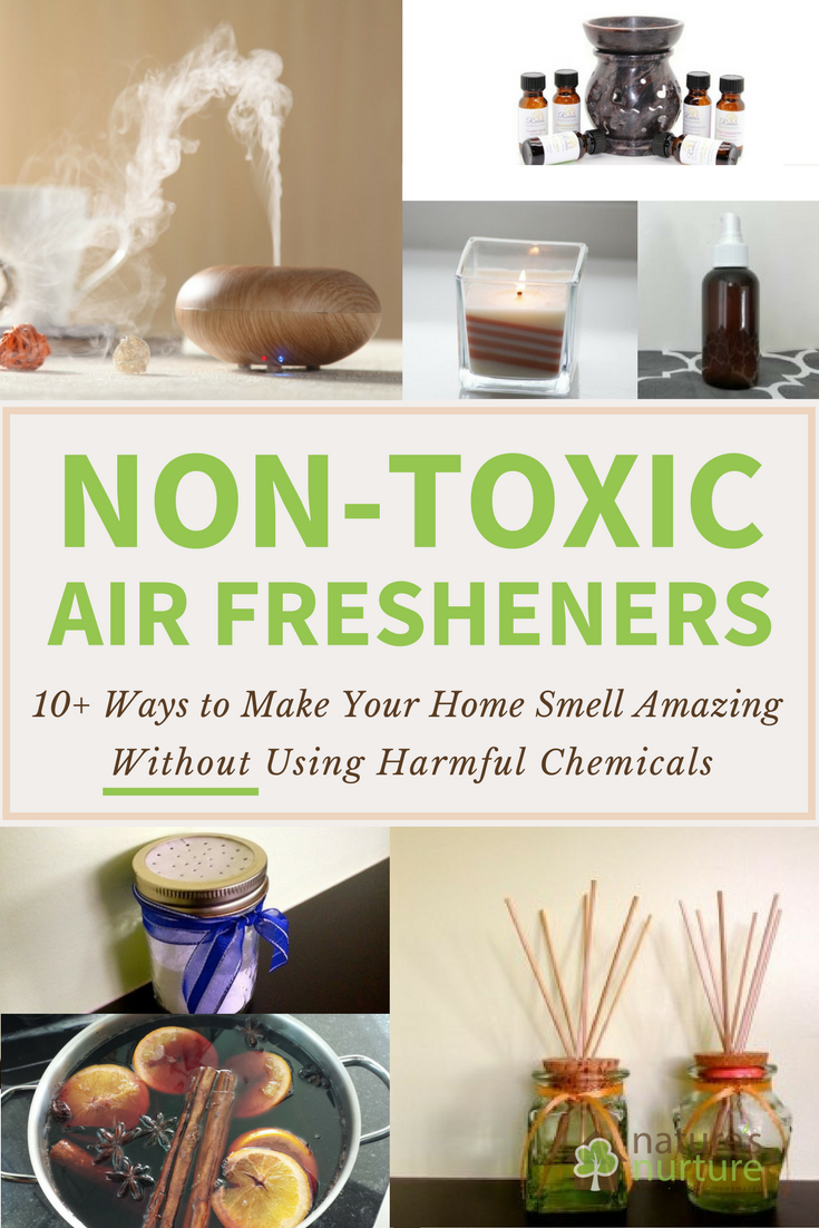 Have you heard the shocking truth about air fresheners? Protect your family from harmful chemicals and choose these safer, non-toxic air fresheners today!