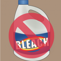 Chlorine bleach is a common cleaning agent, but has a long list of health hazards. Learn about the dangers of bleach, plus what natural alternatives to use.
