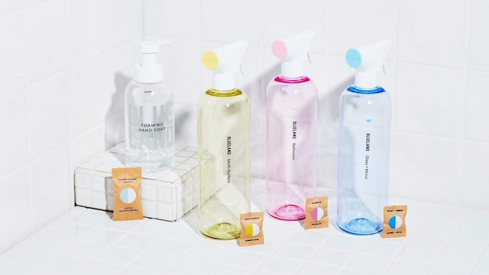 Check out this list of non-toxic, low-waste cleaning products from around the world! Over 15 brands of sustainable, natural cleaning products for your home.